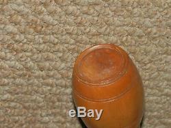 ANTIQUE GADGET Japanese bamboo Pill Box STICK/CANE. (HAND CARVED SHAFT)