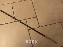 Antique Hand Carved Dress/Walking Stick/Cane