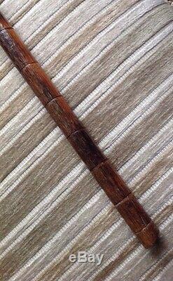 Antique Hand carved Walking Stick