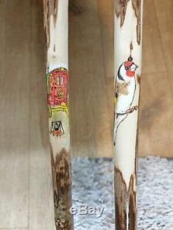 Bespoke Hand Carved Walking Stick 2