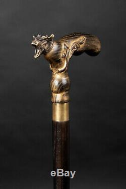 Designer Walking canes Walking Stick Moose Dear Walking cane Hand Carved II