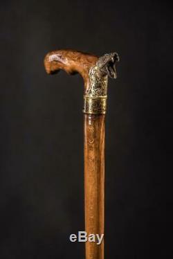 EXCLUSIVE Cobra Walking Stick Walking cane Wood Cane Hand Carved Hiking Stick Wo