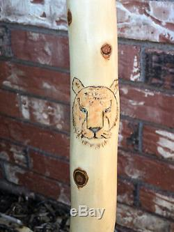 Exquisite Hand Carved Walking Stick Noah's Ark Rick Rodgers Custom Carving