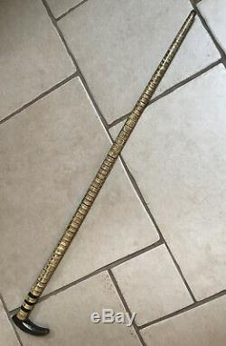 Substantial Antique Vertebrae Walking Stick/Cane