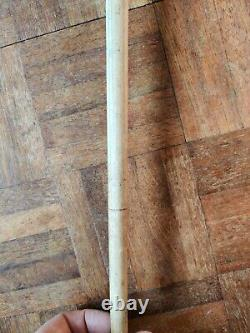 Walking Stick, carved wood, Very Rare, horse measurer livestock auctioneer 1930