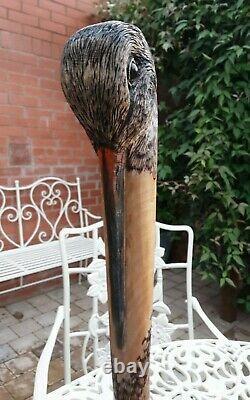 Walking stick / dress stick hand carved Woodcock shooting stick